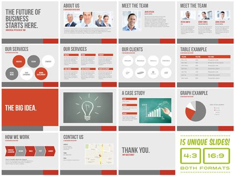 universal pitch deck two powerpoint presentation templates on creative market