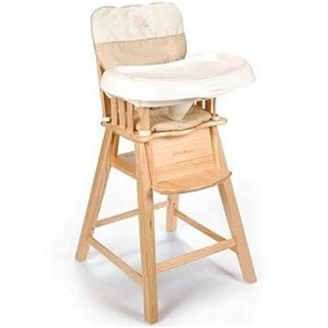 eddie bauer eddie bauer wood high chair 03033b4b reviews viewpoints