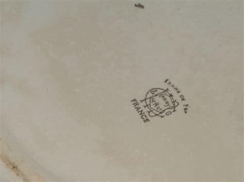 choisy photo de marques des faiences de creil montereau et choisy le roi collection