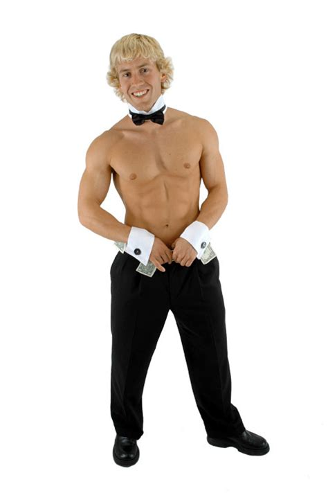 Chip N Dale Costume by Male Dancer Stripper Chip N Dales Collar And Cuffs Costume