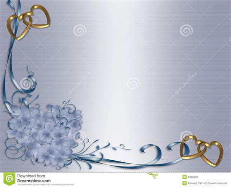 mariage floral de satin d invitation de cadre bleu images libres de droits image 9390329