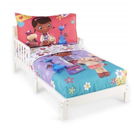 disney doc mcstuffins toddler s 4 bedding set