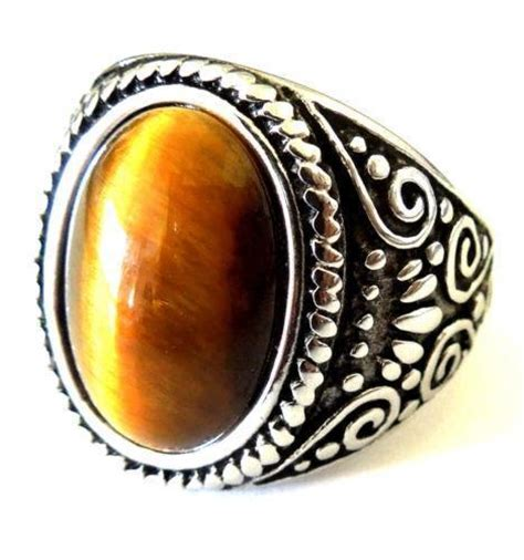 Mens Tiger Eye Ring  Ebay. Heartagram Wedding Rings. 9ct Gold Rings. Estate Rings. Wire Engagement Rings. Blue Topaz Rings. Gold Romania Wedding Rings. Horsehair Rings. Jasper Stone Rings