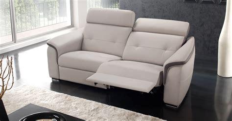 canap 233 relaxation 233 lectrique loreda cuir premium personnalisable sur univers du cuir