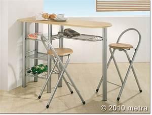 Kleiner Tisch Mit Stühlen : k chenbar mit 2 st hlen k chentisch bistro tisch holz ebay ~ Markanthonyermac.com Haus und Dekorationen