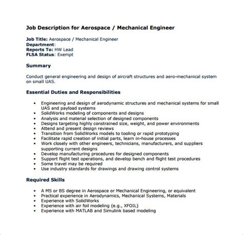 Mechanical Engineering Job Description Template  8+ Free. Ms Word Download Free Template. New Grad Nurse Cover Letter Sample Template. Sample Event Photography Contract Template. Mortgage Advisor Cover Letter. What Does A Resume Look Like Template. Persuasive Essay Illegal Immigration Template. Quality Assurance Resume Samples Template. Job Duties Of Teacher Template