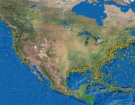 German U Boats Off Coast Florida by Resource Protection Potentially Polluting Wrecks In U S