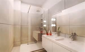 am 233 nagement salle de bain blanc