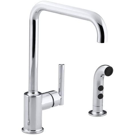 kohler fairfax 4 2 handle standard kitchen faucet