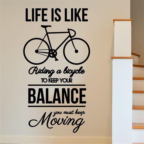 wall designs inspirational wall bike inspirational motivational wall sticker