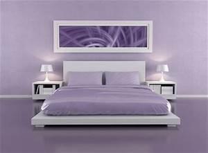 Lila Im Schlafzimmer : wandgestaltung wandfarben palette hausliebe ~ Markanthonyermac.com Haus und Dekorationen
