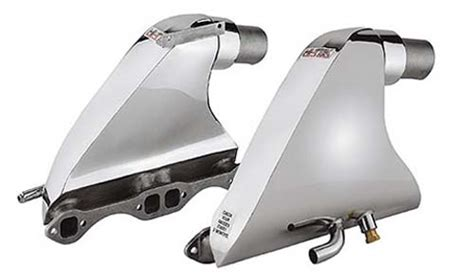 Aluminum Boat Exhaust Manifolds by Ford Marine Aluminum Exhaust Manifolds