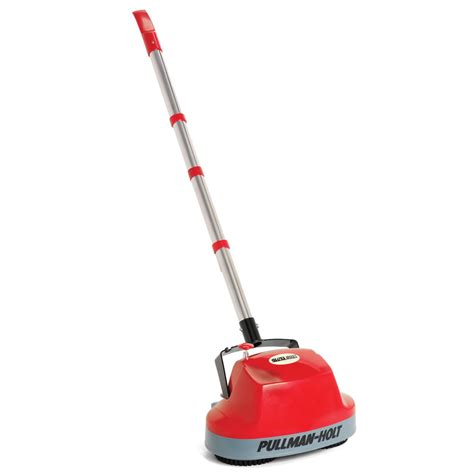 the floor scrubber with spray applicator hammacher schlemmer