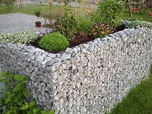Hochbeet Mit Steinen : hochbeet aus stein gabionen hochbeete kreative erg nzung ~ Whattoseeinmadrid.com Haus und Dekorationen