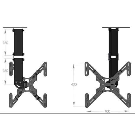 tv wall mount support television ceiling 32 bfsat