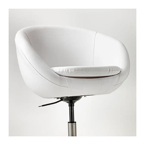 White Swivel Desk Chair Ikea by Skruvsta Swivel Chair Idhult White Ikea