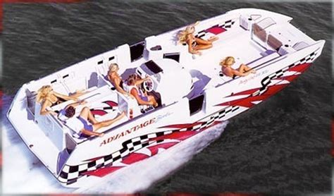 Party Cat Boat by Research Advantage Boats 28 Party Cat Xl High Performance