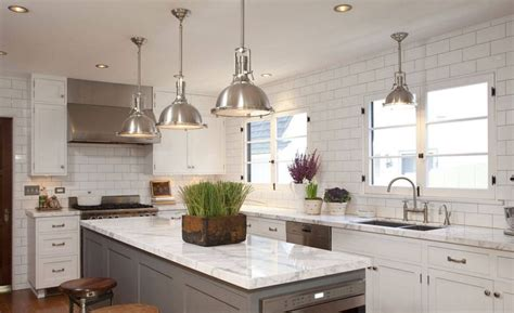 4x8 subway tile with grey grout cottage kitchen