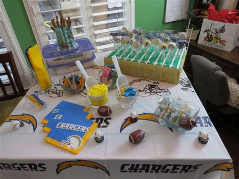 San Diego Charger Party Ideas