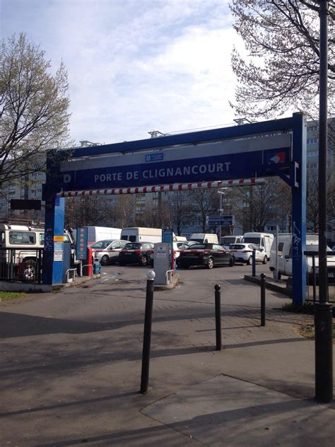 porte de clignancourt parking in parkme