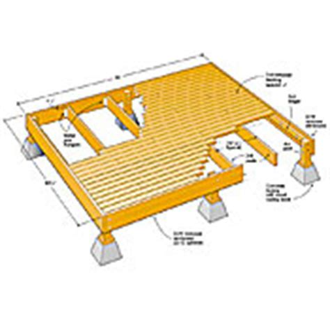 10 x 12 freestanding deck plans book covers