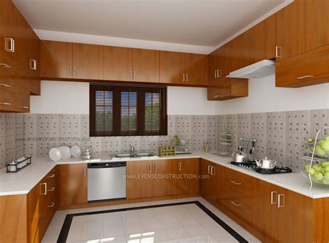 Home Interior Kitchen Design Photos : Design Interior Kitchen Home Kerala Modern House Kitchen