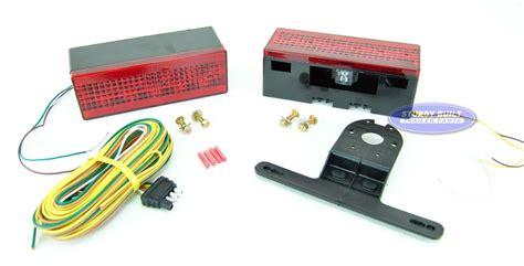 Boat Trailer Light Kit by Led Submersible Boat Trailer Complete Light Kit Low Profile