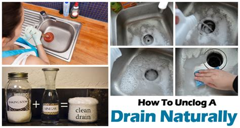 home remedies for clogged tub drains how to unclog a drain naturally result