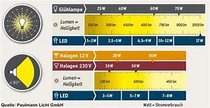 Tageslicht Lumen Kelvin : leuchtmittel shkwissen haustechnikdialog ~ Markanthonyermac.com Haus und Dekorationen