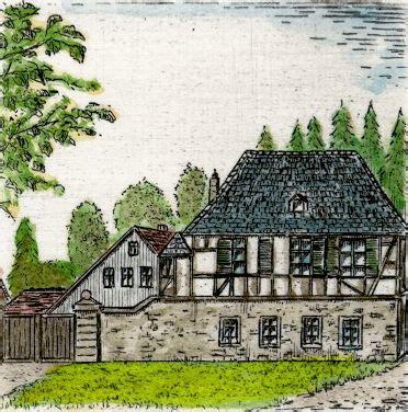 Neuisenburg Radierungen Von Buchner Mit Neuisenburg