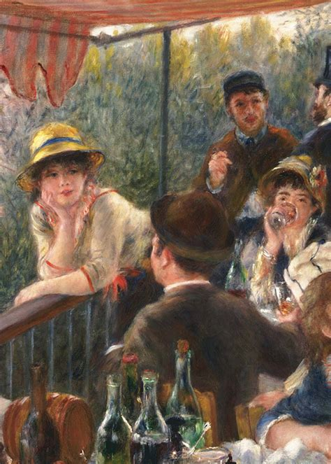 Luncheon Of The Boating Party By Pierre Auguste Renoir Analysis by 1880 1881 Luncheon Of The Boating Party By Pierre
