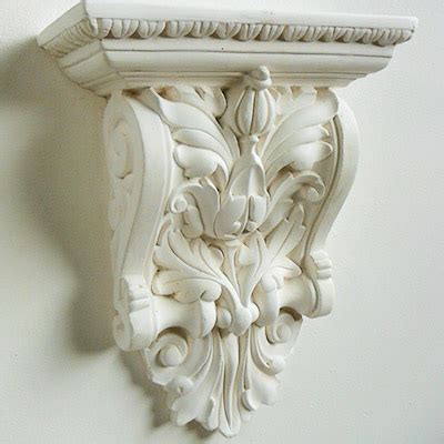 Decorative Plaster Corbels, Match Existing, Portsmouth