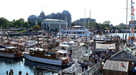 Victoria Floating Boat Show by Classic Boat Festival Birds Of A Feather B B