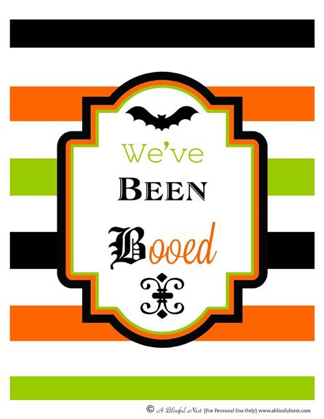 A Blissful Nest  Printable Halloween Boo Sign  Front. Petechia Signs. Workplace Hazard Signs. Acute Pancreatitis Signs. Sophia Yin Signs. Trick Signs Of Stroke. Road Colour Light Signs Of Stroke. Recessive Signs. Negative Signs