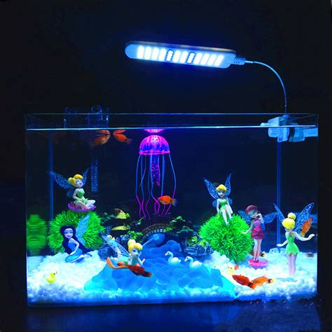 new fish tank aquarium decoration flower dolls ornament water landscape aquarium