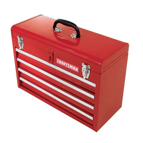 craftsman 20 1 2 quot 4 drawer portable tool chest tools tool storage portable toolboxes