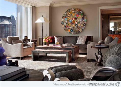 20 Unique Living Room Wall Decors  Decoration For House