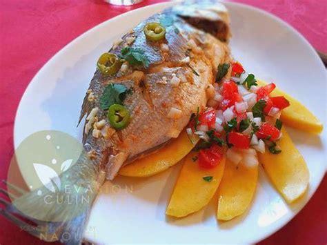 recettes de cuisine antillaise et poisson