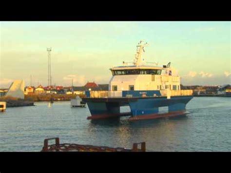 Catamaran Vs Monohull Ferry by Swath Technologie Einsatz In Der Nordsee Doovi
