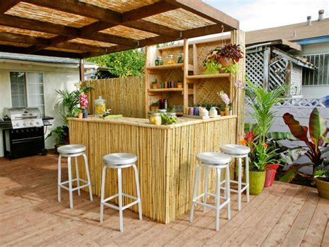 Outdoors Bar : Diy Or Buy An Outdoor Bar