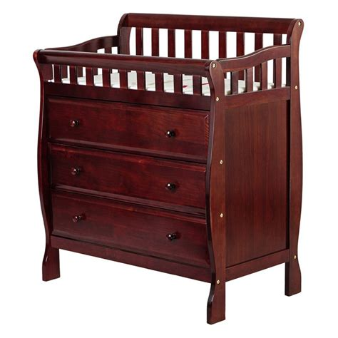 babies r us dresser topper on me changing table and dresser cherry at