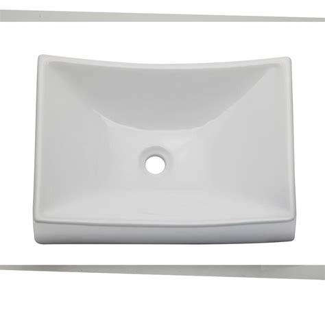 decolav classically redefined vessel sink in white 1446