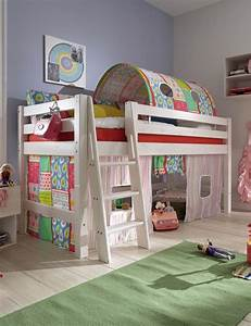 Hochbett Vorhang Nähen : die besten 17 ideen zu halbhohes hochbett auf pinterest halbhohes kinderbett spielbett und ~ Markanthonyermac.com Haus und Dekorationen