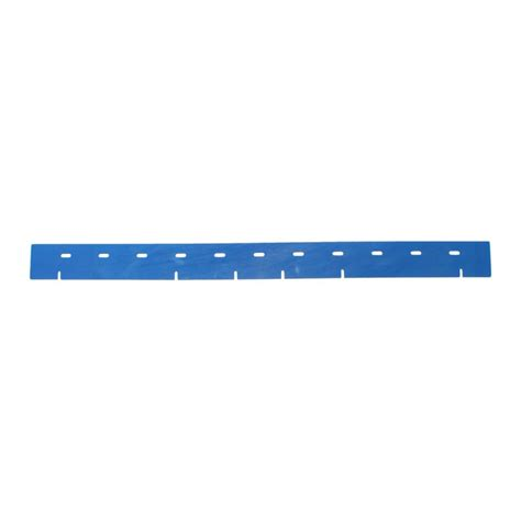 front blue squeegee blade for viper fang 28t auto scrubber