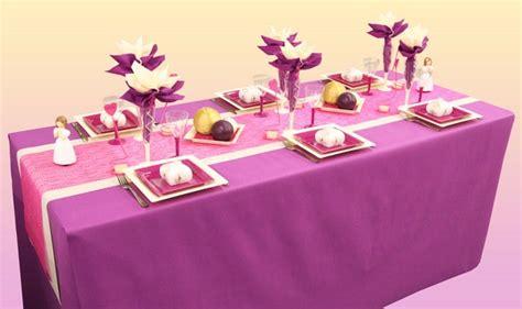 decorations de table le d articles fetes d 233 coration accessoires de table astuces