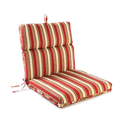 jules floral stripes reversible outdoor chair cushion big lots