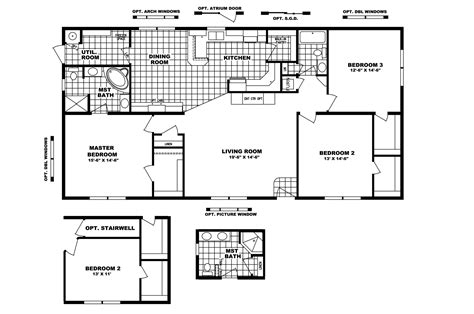 Clayton Mobile Home Floor Plans Photos by Manufactured Home Floor Plan 2006 Clayton Sold