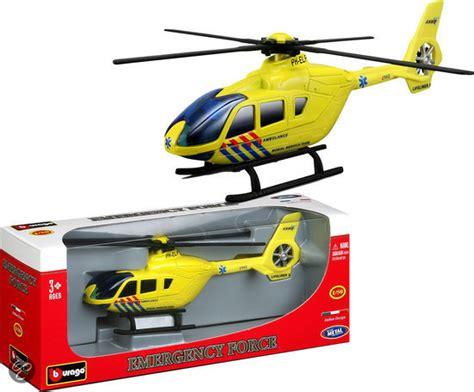 Speelgoed Helikopter by Bol Burago Ambulance Helicopter 1 50
