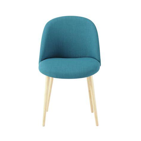 chaise vintage bleue mauricette 79 chez maison du monde wishlist chaise