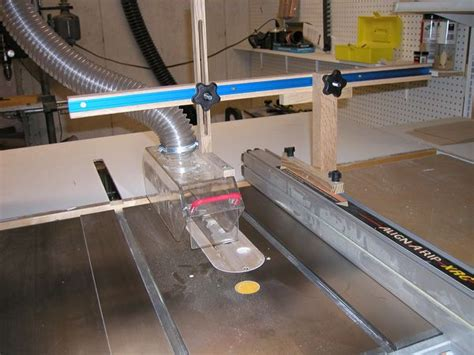 Table Saw Guard With Dust Collection  Modern Coffee